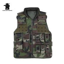 Military Tactical Vest High Quality Multi-Pocket MELLO Tactical Vest  CS Paintball Equipment 3 Colors CB20E911