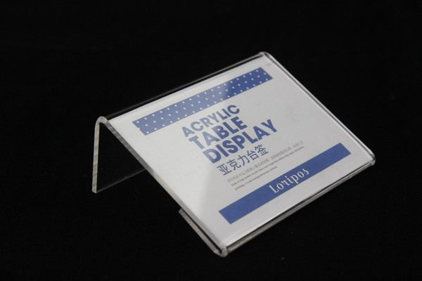 online shop 95x70mm 20pcs tag sign card display stand acrylic table
