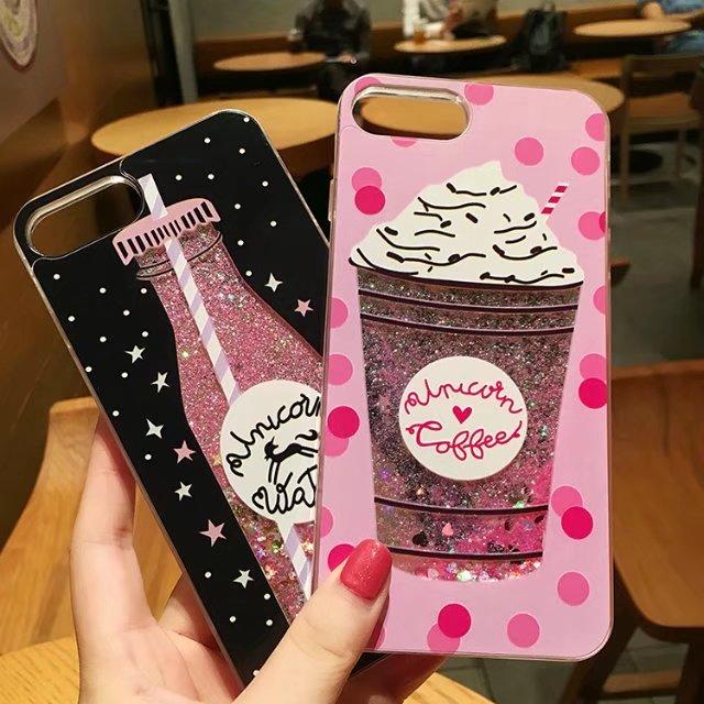 Unicorn Water Glitter Phone Case