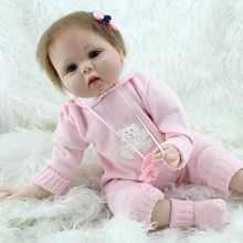 22 Nursery Baby Dolls Reborn So Truly Real Lifelike Girl in Blue Eyes Collectible Toy Women