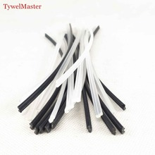 50pcs Plastic Welding Rod PP 2.7x5.5x200mm Hot Stapler Car Bumper Repair Filling Plastic Rod