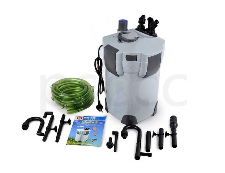 Bactericidal lamp for filter bucket with external cylinder filter for aquarium UV Sterilizer Fish Tank Outside
