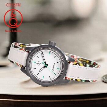 Citizen Q&Q watch women ladies Gift Clock Top Luxury Brand Waterproof Sport Quartz solar women watches Neutral watches relogio