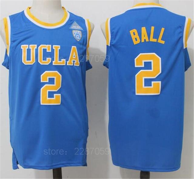 5536fd77895e Ediwallen College 2 Lonzo Ball Jersey Men UCLA Bruins Basketball Jerseys  Cheap For Sport Fans All Stitching Blue White Yellow