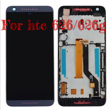 For HTC Desire626 D626 LCD screen assembly new  display Touch screen with bracket box