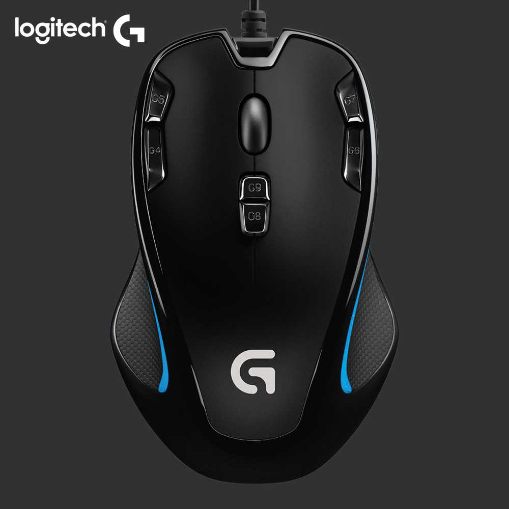 Ratón de gaming óptico G300S de Logitech original con 2500 DPI para PC mouse gamer play overwatch Starcraft War3