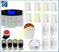 Hote sales Auto dial SMS intercom security alarm system GSM850/900/1800/1900Mhz gsm home alarm system