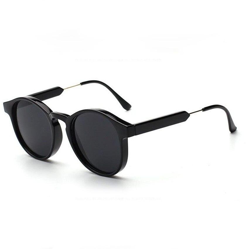 2016 New Retro Classic Round Sunglasses Men Women Brand Designer Vintage Sun Glasses Metal Fashion Cool Oculos De Sol Gafas