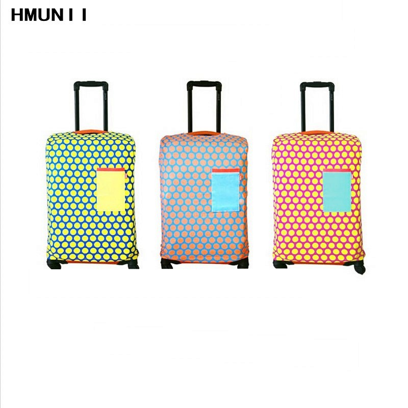 New Travel Accessories Micro-elastic Canvas Luggage Protective Covers for 18-30 Inch Case Trolley Suitcase Protect Dust Cover