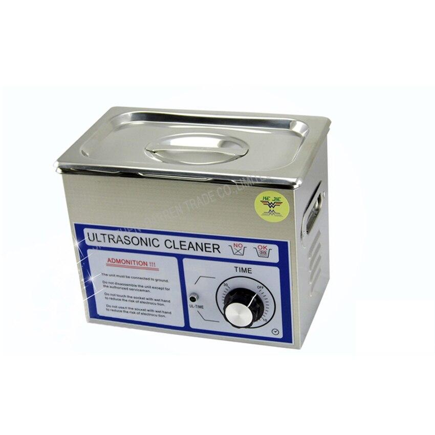 1 STÜCK ultraschallreiniger 3L PS 20T 120 watt 40000Hz frequenz für jewely, gleases, ring münze reinigungsmaschine - 3