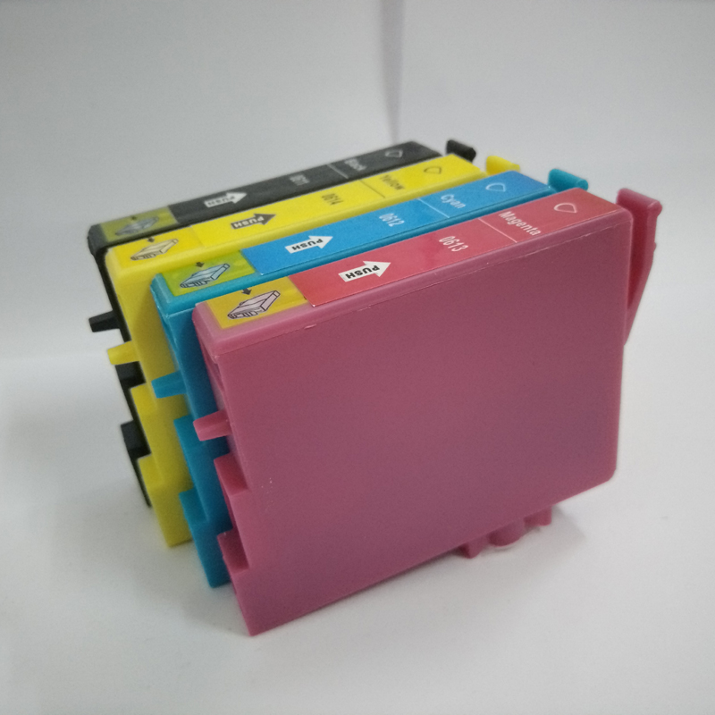 1Set For Epson T0611 T0612 T0613 T0614 Ink Cartridge For Epson Stylus D68 D88 DX3800 DX3850 DX4800 DX4850 printer ink in Ink Cartridges from Computer Office