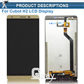 CUBOT H2 LCD Display + Touch Screen Digitizer Assembly 100% Original Replacement Accessories for CUBOT H2 Cell Phone+tools