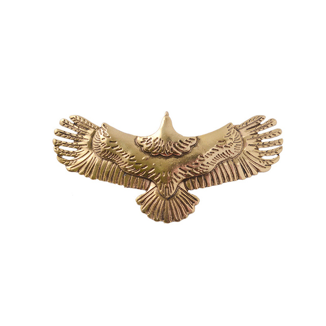 WWII Barrette Ancient Gold...