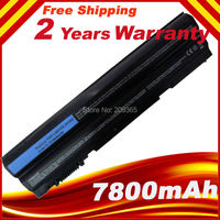 7800mAh 9 Cells Battery For Dell Latitude E6230 E6120 E6220 E6330 E6320 E6430S E6320 XFR Series