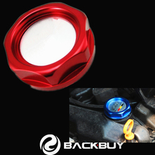 Red Aluminum Billet Racing Engine Valve Cover Oil Filler Cap Fit For Honda Acura Series Accord Civic Crv Mugen Power
