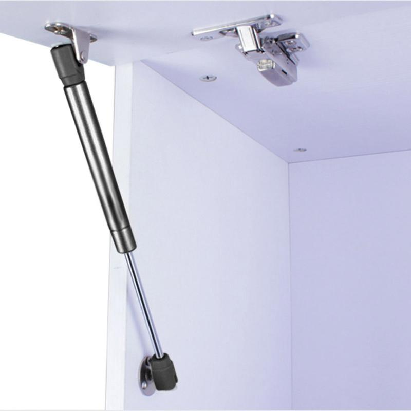 1pcs Door Lift Pneumatic Support Hydraulic Gas Spring Stay Strut For Cabinet Door Lift Hold Pneumatic Hardware