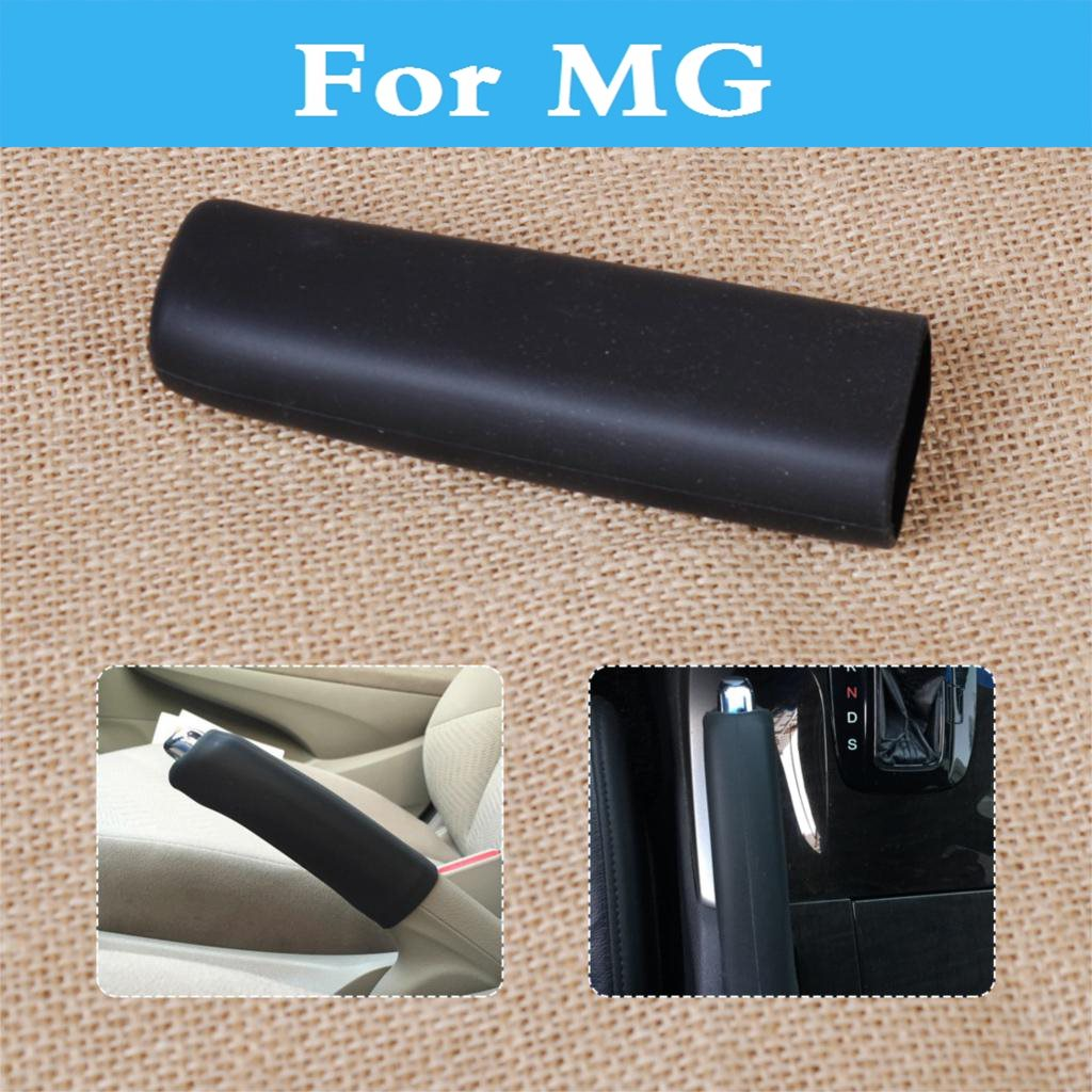Handbrake Grips Car Anti Slip Silicone Parking Hand Brake Boot Leather Cover For Mg 3 350 5 550 6 Gs Tf Xpower Sv Zr Zt Zs