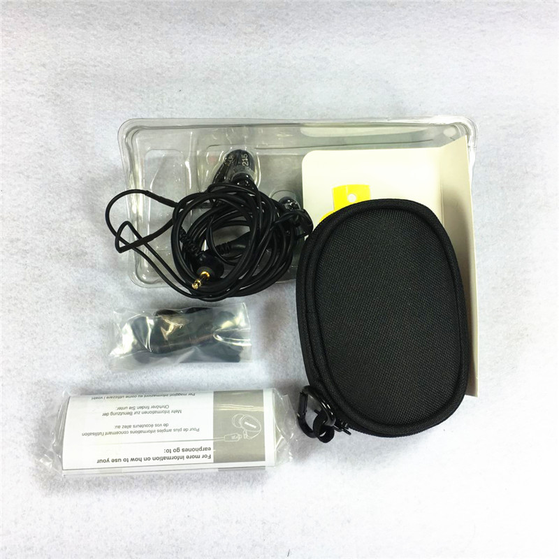 Brand SE215 SE315 SE535 Hi-fi stereo Headset Noise Canceling 3.5MM In ear Earphones Separate Cable headset with Box hot sale se 425 se535 se315 noise isolating music in ear headsets black universal fit wired earphones se215 with retail box