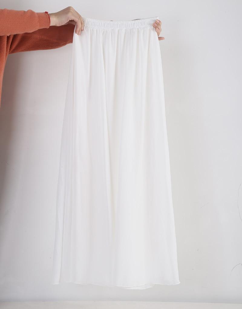 fb9397dec7b5 Elegant Chiffon Maxi Skirt - DealBola.com