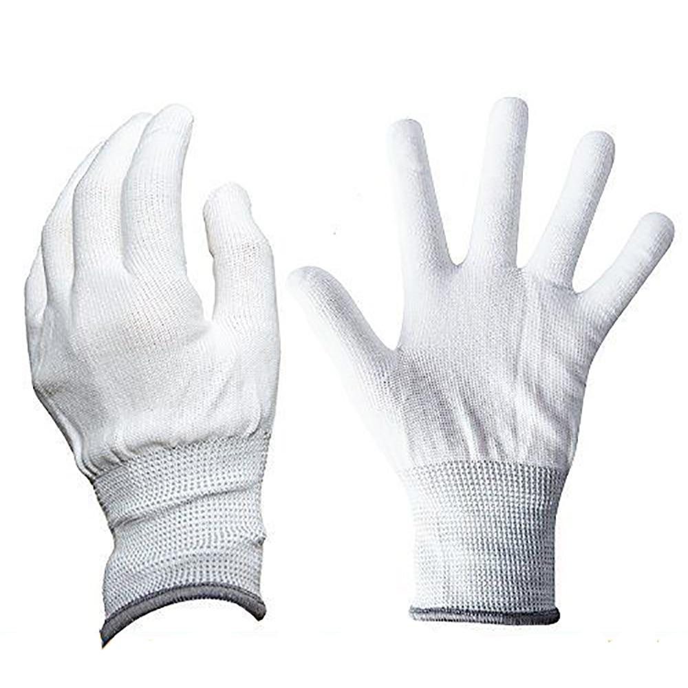 EHDIS Vinyl Anti-static Window Tint Car Wrap Gloves 1 Pair Tinting Work Gloves Nylon Carbon Fiber Car Stickers Film Install Tool
