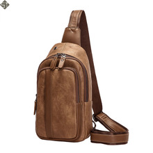 Men's USB Chest Bag Designer Messenger bag Leather Shoulder Bags Diagonal Package Fashion Men Crossbody Bags new Back Pack Trave