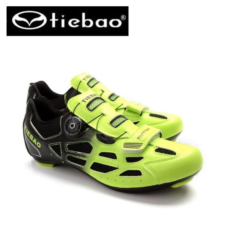 ФОТО TIEBAO Cycling Shoes Road zapatillas deportivas hombre ciclismo cycling road bike shoes superstar original cycling sneakers men