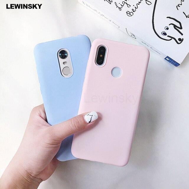 Case For Xiaomi Mi A2 8 lite A1 Mix 2s pocophone F1 Redmi 4X 4A 5 Plus 5A 6A S2 Note 4X 4 5 6 Pro 5A Prime Silicone Cute Case