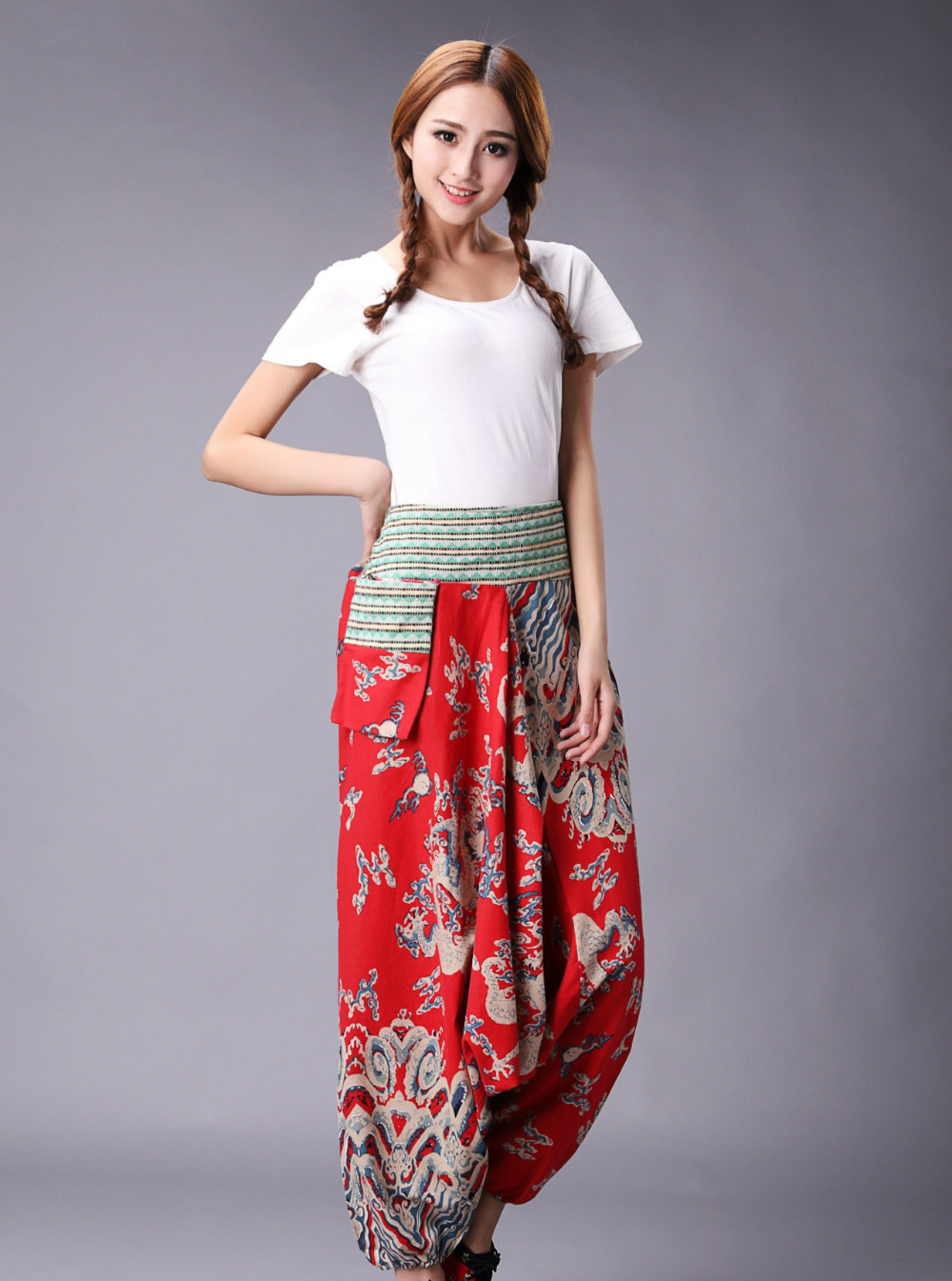 Womens asian style pant