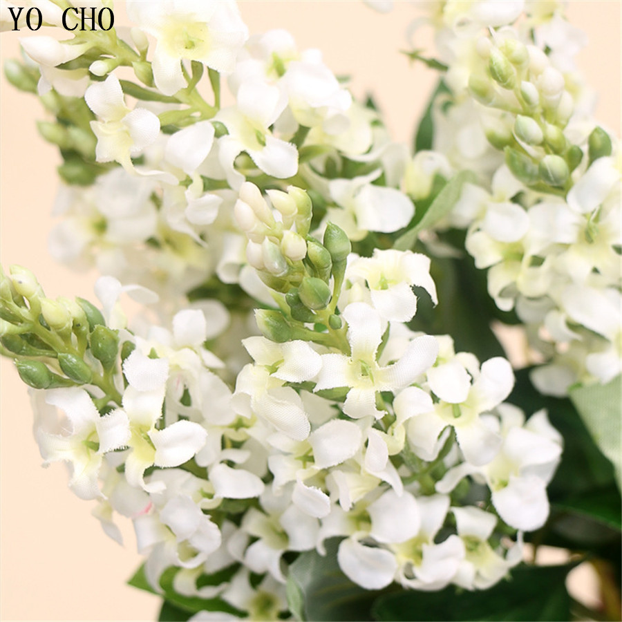 Wedding decoration artificial hyacinth bouquet real touch flores bridal bouquet silk fake flower decoration mariage Home Decor-in Artificial & Dried ...