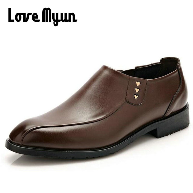 2017 brand new spring men dress Wedding shoes Breathable Genuine leather shoes casual Flats comfortable slip on shoes  WA-15 new hot sale women shoes breathable buckle slip on for women comfortable dress shoes genuine leather white colour free shipping