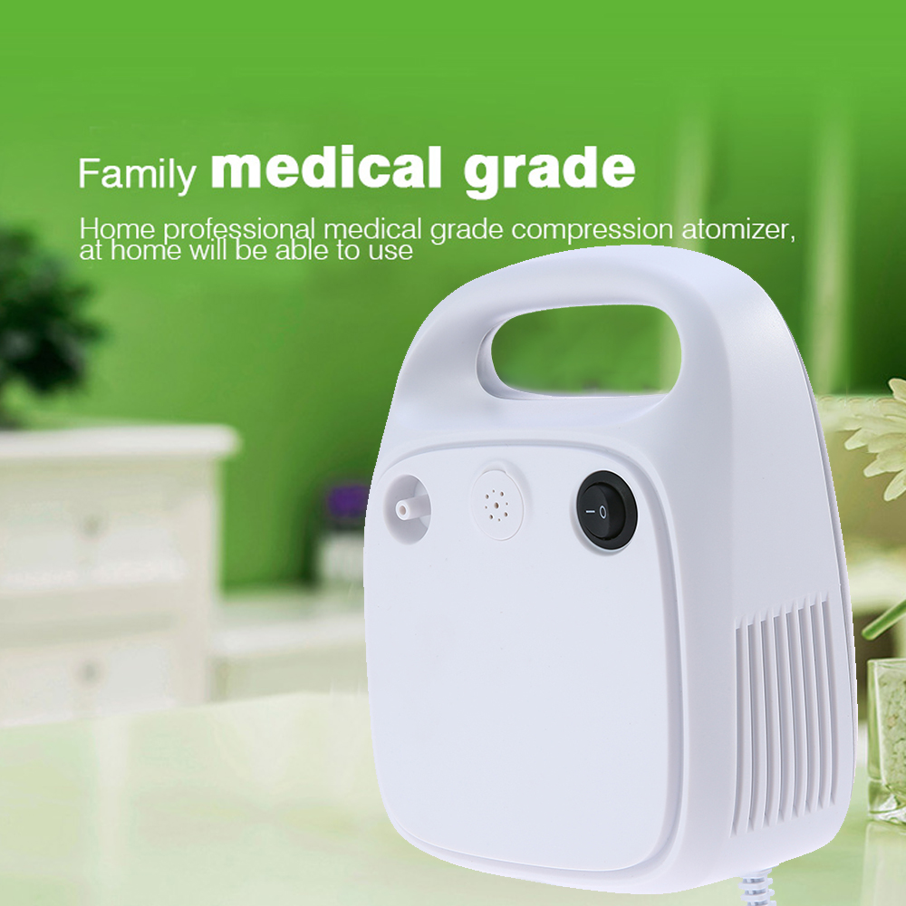 Carevas Nebulizer Portable Compact Vaporizer Compressor System Health Care Relief Respiratory Medicine Inhaler Therapy