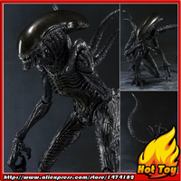 100% Original BANDAI Tamashii Nations S.H.MonsterArts (SHM) Action Figure Alien Warrior from Alien VS Predator