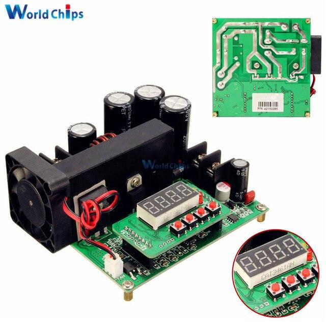 DC-DC BST900 0-15A 8-60V To 10-120V Boost Converter Power Supply Module CC/CV LED Driver 11 x 10 x 4.2 cm Step-up Modules