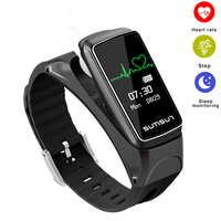Bluetooth Smart Band Talkband B7 Heart Rate Monitor Smart Watch Sport Health Smart Bracelet With Music