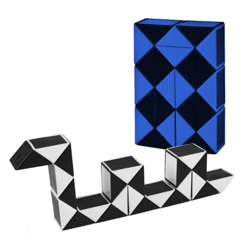 24 Blocks Children 3D Magic Cube Twist Logic Brain Teaser Game Toy Anti-stressed Kids Puzzle Educational Toys Birthday Gift