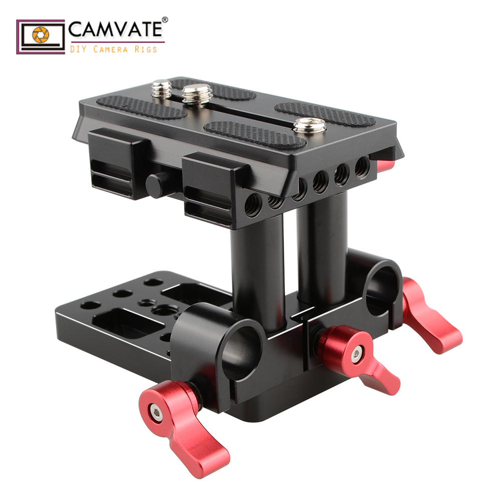 mount accessory CAMVATE Quick Release Mount Base QR Plate for Manfrotto Standard Accessory C1436 camera photography accessories (1)