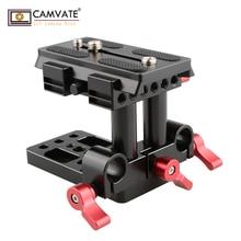 CAMVATE Quick Release крепление база QR пластина для Manfrotto стандартный аксессуар C1436 камера фотографии интимные аксессуары