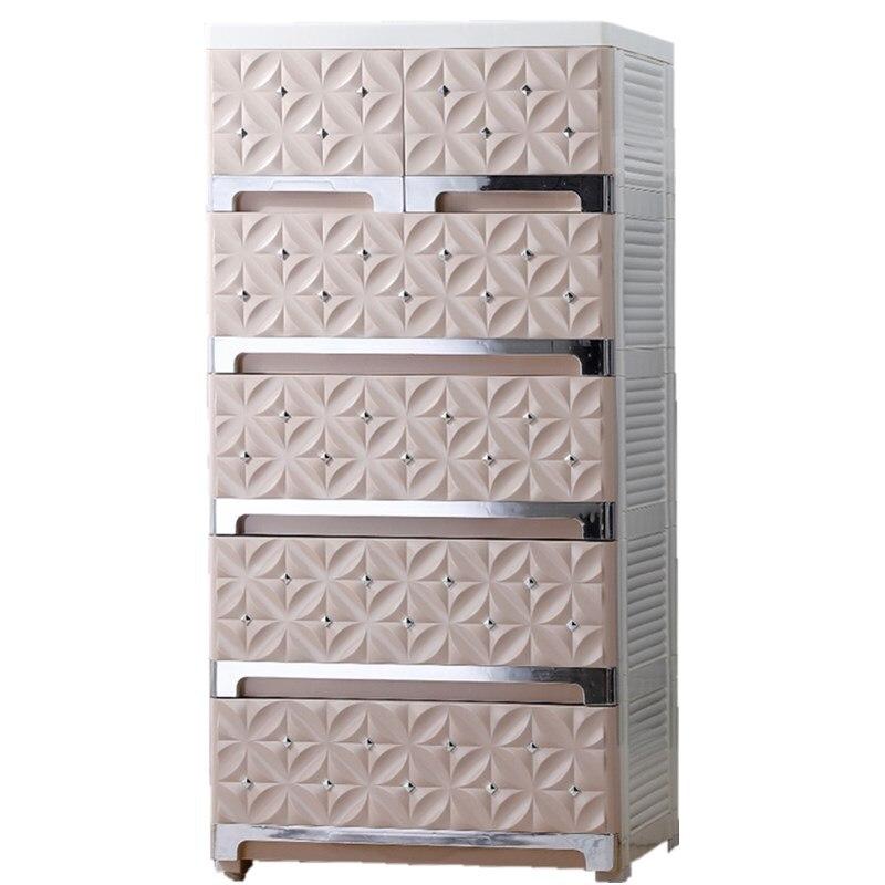 5 couches armoires PP armoire en plastique écologique étagère de rangement Rack organisateur ferme haute capacité tiroir organisateur diviseur