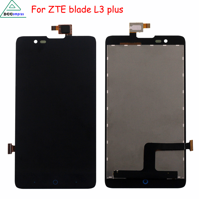 For ZTE Blade HN V993W L3 plus LCD Display Touch Screen Digitizer Assembly For ZTE Blade L3 Plus Screen LCD Phone Parts