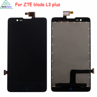 Black Full 5 Inch For ZTE Blade HN V993W L3 Plus LCD Display With Touch Screen