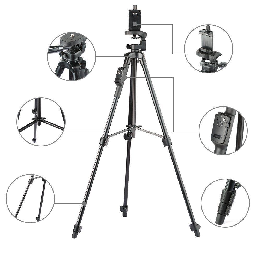 5208 professional Aluminum alloy dslr camera Tripod
