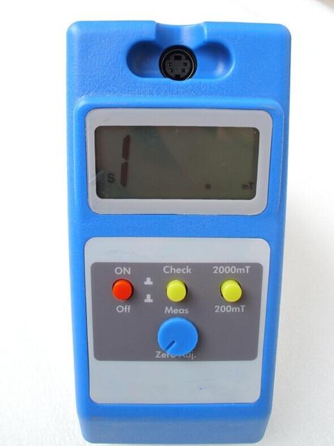 bc2b6b9675d Original de Alta Sensibilidade WT10B Metros Gauss Medidor de Tesla  Magnetômetro 0-200mT Medição De