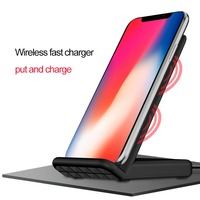 Multi Interface Fast Qi Standard Wireless Charging Station Mute Heat Dissipation Wireless Charger Holder