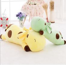 40cm papa Deer giraffe plush sleeping pillow, giraffe stuffed animal doll, valentines day gift, baby kids toy