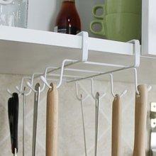 Multifunctional Kitchen Storage Rack Nails Free Cupboard Hang Cup Dishes Racks Cocina