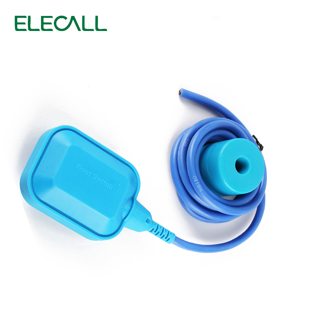 New Arrival 10M Controller Float Switch High-Temperature Silicone Wire Liquid Fluid Water Level Float Switch Contactor Sensor