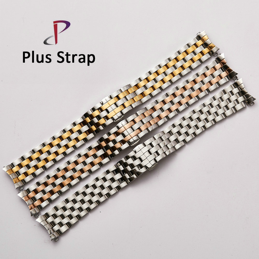 High quality Watch band Solid Stainless Steel Bracelet 14 mm 19 22 23 24 mm Metal Strap for Men Women eache silicone watch band strap replacement watch band can fit for swatch 17mm 19mm men women