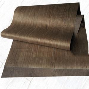 Image 4 - 技術4FCクルミ木材エンジニアリングベニヤe.v。62 × 250センチメートルティッシュバッキング0.2ミリメートルの厚さのc/c