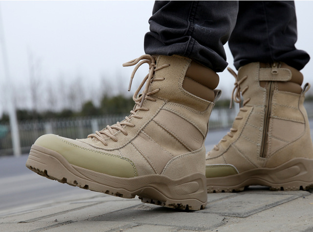 Aliexpress.com : Buy Delta Tactical Boots Military Desert Combat ...