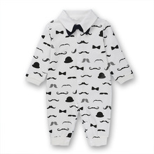 Toddler Baby Rompers Autumn Roupas Infant Jumpsuits Boy Clothing Sets Newborn Baby Clothes pilot Cotton Baby Clothing недорого